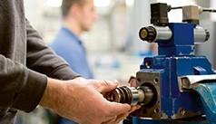 Reparaţii pompe şi echipamente hidraulice